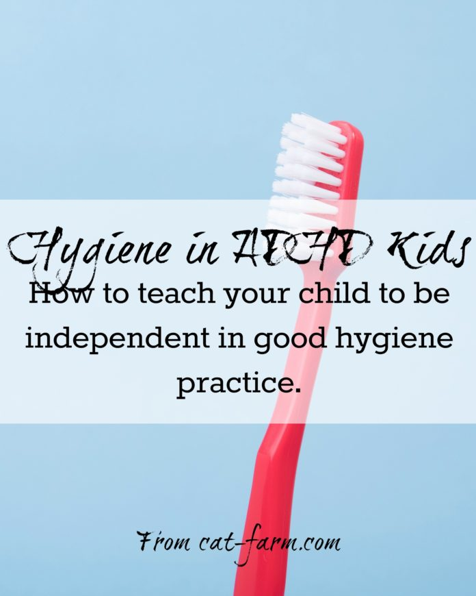 hygiene in ADHD kids